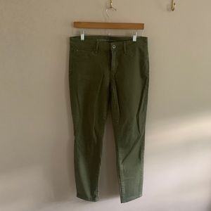Articles of Society olive green jeans